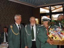 Verabschiedung vom Oberstleutnant Friedel Kleine-Weischer